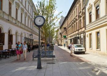 ul. 6-go Sierpnia w Łodzi (woonerf)