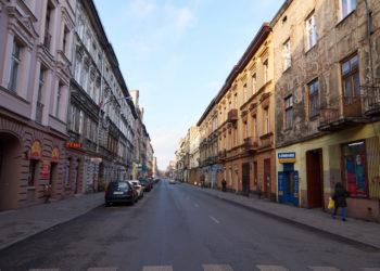 ul. Wschodnia w Łodzi