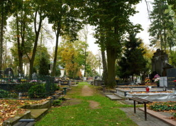 Cmentarz ewangelicki i kaplica Kindlerów w Pabianicach