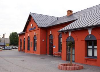 Dworzec kolejowy w Sieradzu
