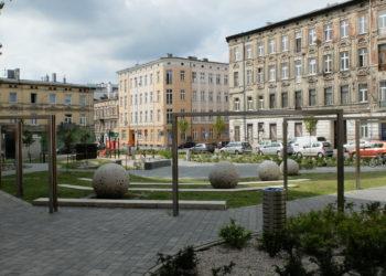 Park kieszonkowy na rogu ulic Lipowej i Struga