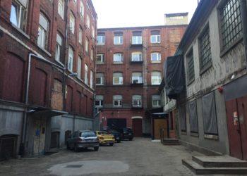Podwórko przy ul. Piotrkowskiej 80